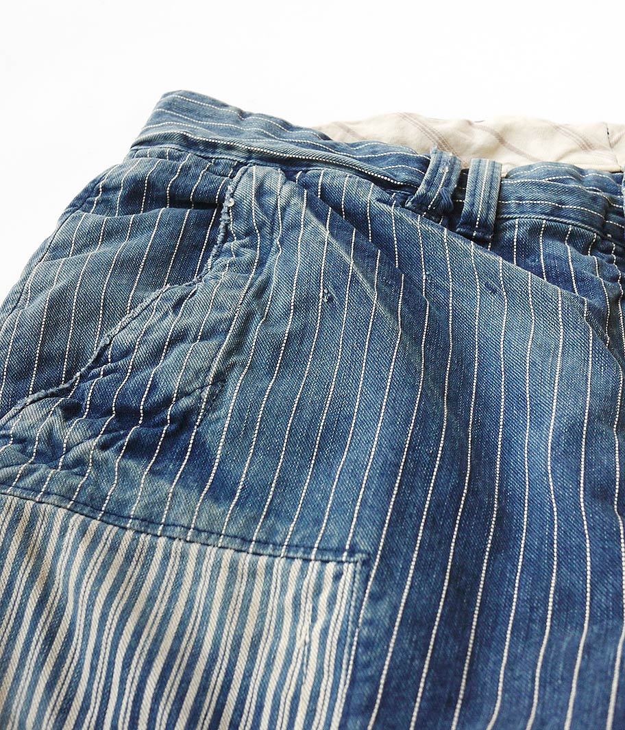 ANACHRONORM Hickory Strip Trousers