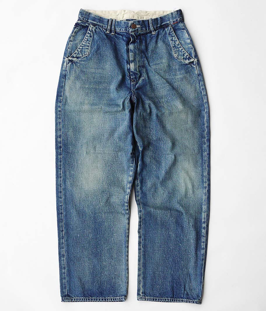 ANACHRONORM Denim Wide Trousers
