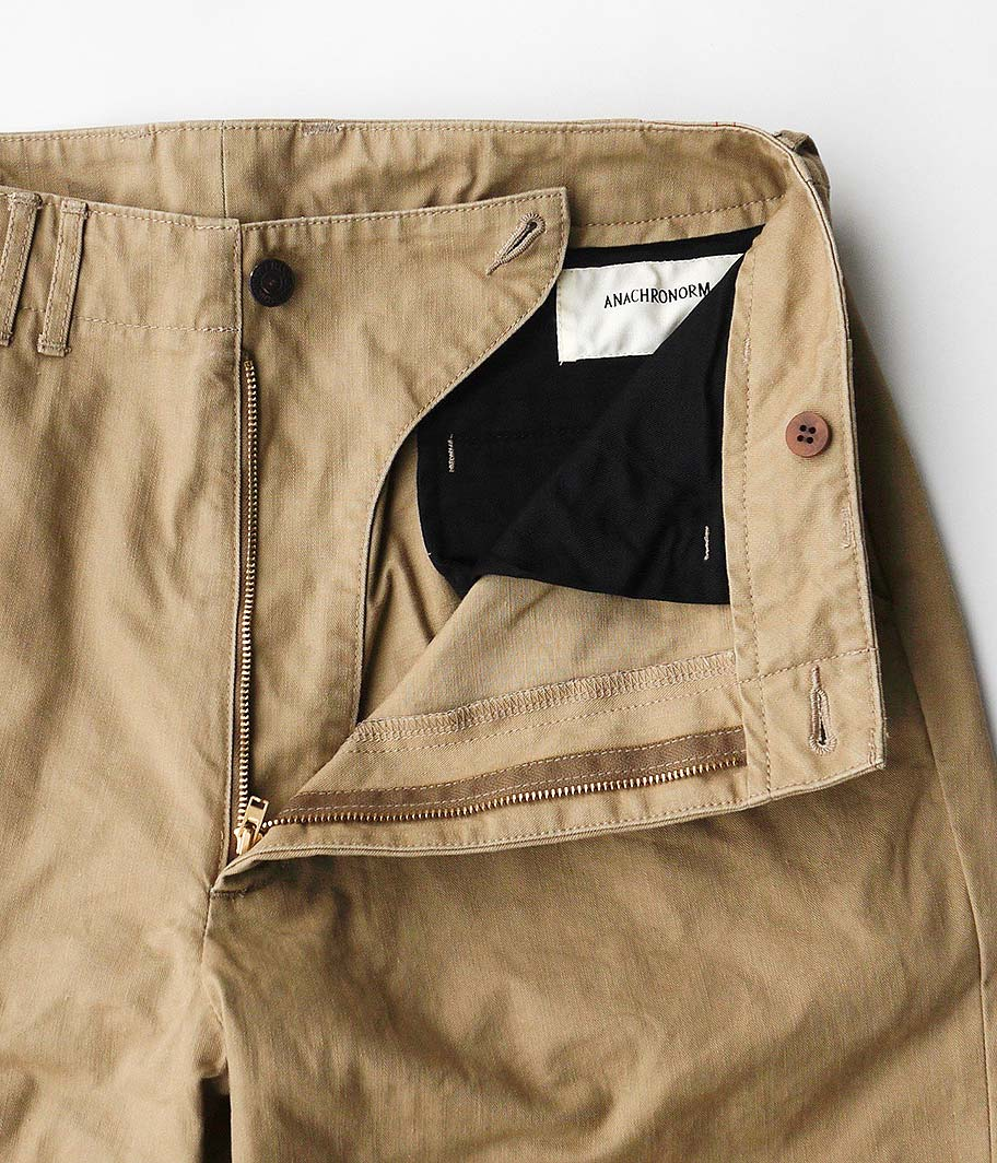 ANACHRONORM Standard Tapered Trousers