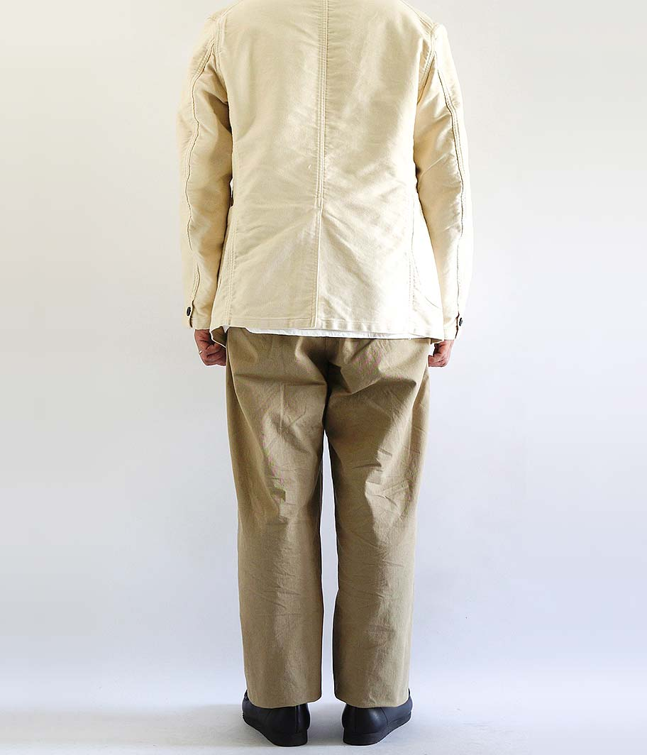 ANACHRONORM Standard Tuck Wide Trousers