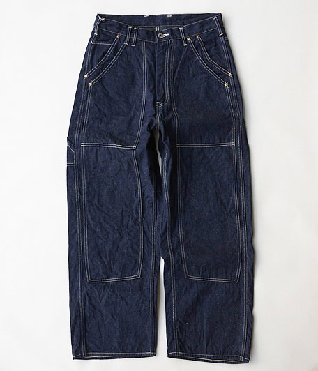 ANACHRONORM Rinsed Denim Painter Pants