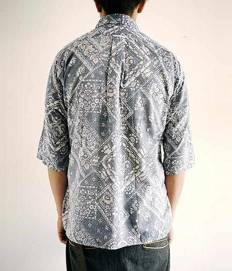 ANACHRONORM Clothing Bandana Regular Fit 1/2 Sleeve B.D Shirt