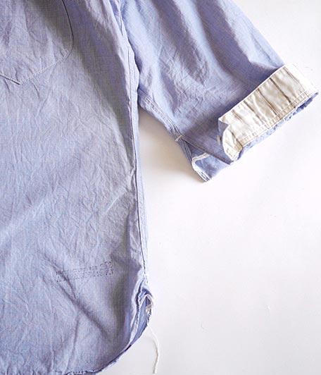 ANACHRONORM Clothing Hakeme Regular Fit 3/4 Sleeve Work Shirt