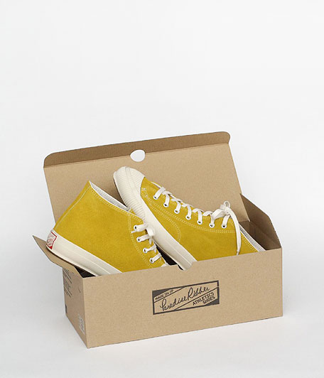 ANACHRONORM Reading PARADISE RUBEER Athletics Shoes MID OFF WHITE SOLE