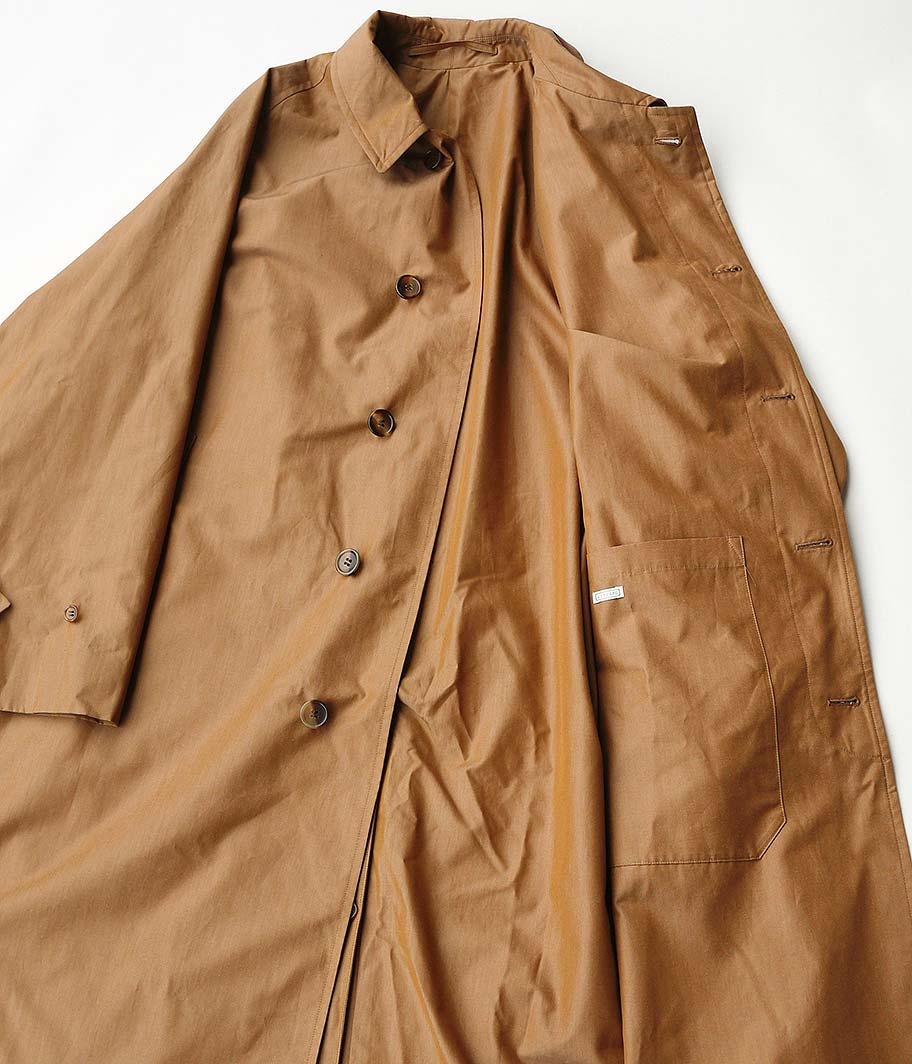 A.PRESSE Balmacaan Coat