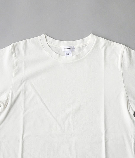 BETTER CREW NECK S/S T-SHIRT
