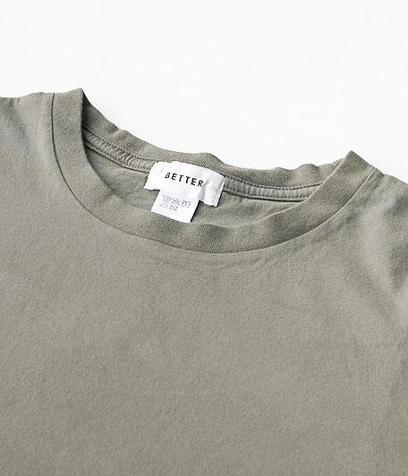 BETTER CREW NECK S/S T-SHIRT