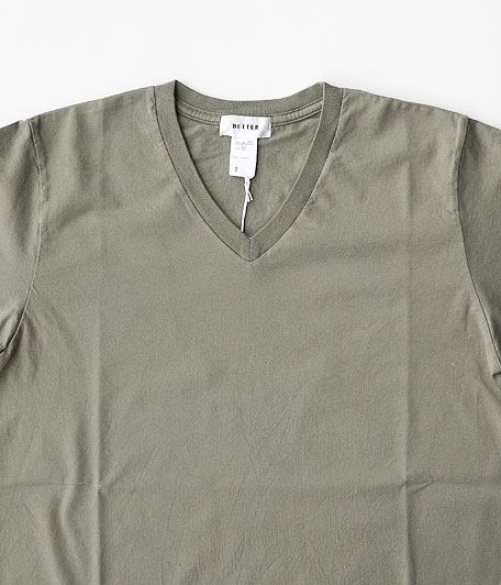BETTER V  NECK S/S T-SHIRT
