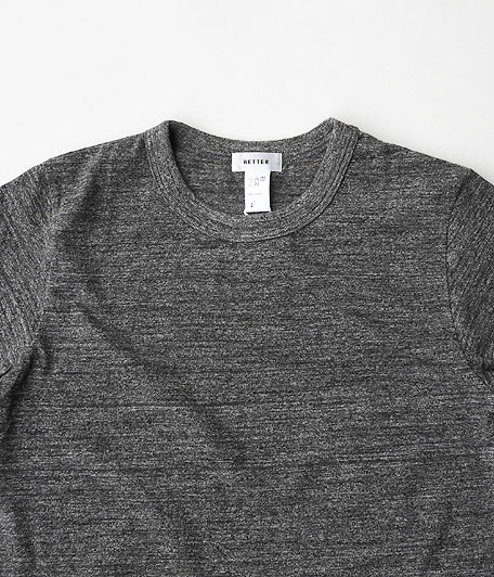 BETTER MID WEIGHT CREW NECK S/S T-SHIRT