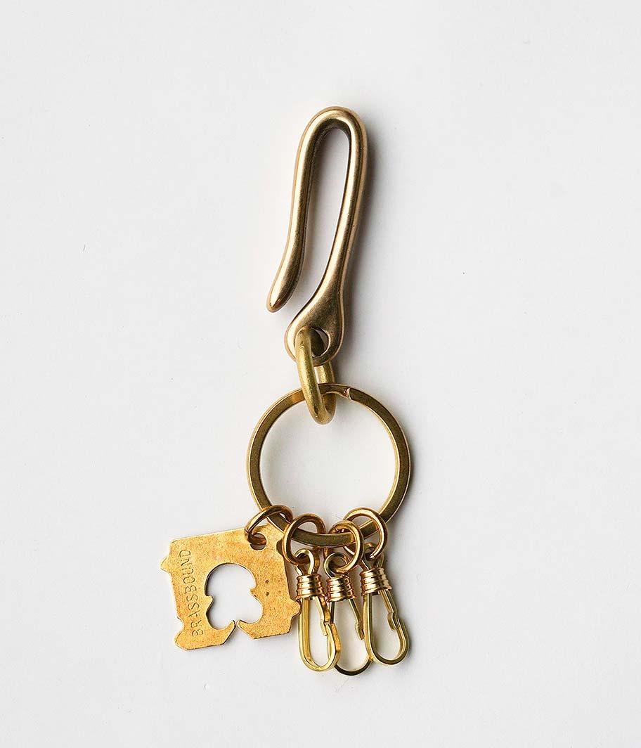 BRASSBOUND Brass Key Ring