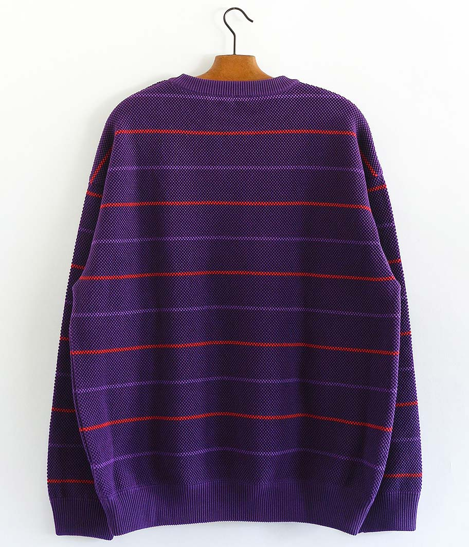 crepuscule Moss Stitch Border L/S Sweat
