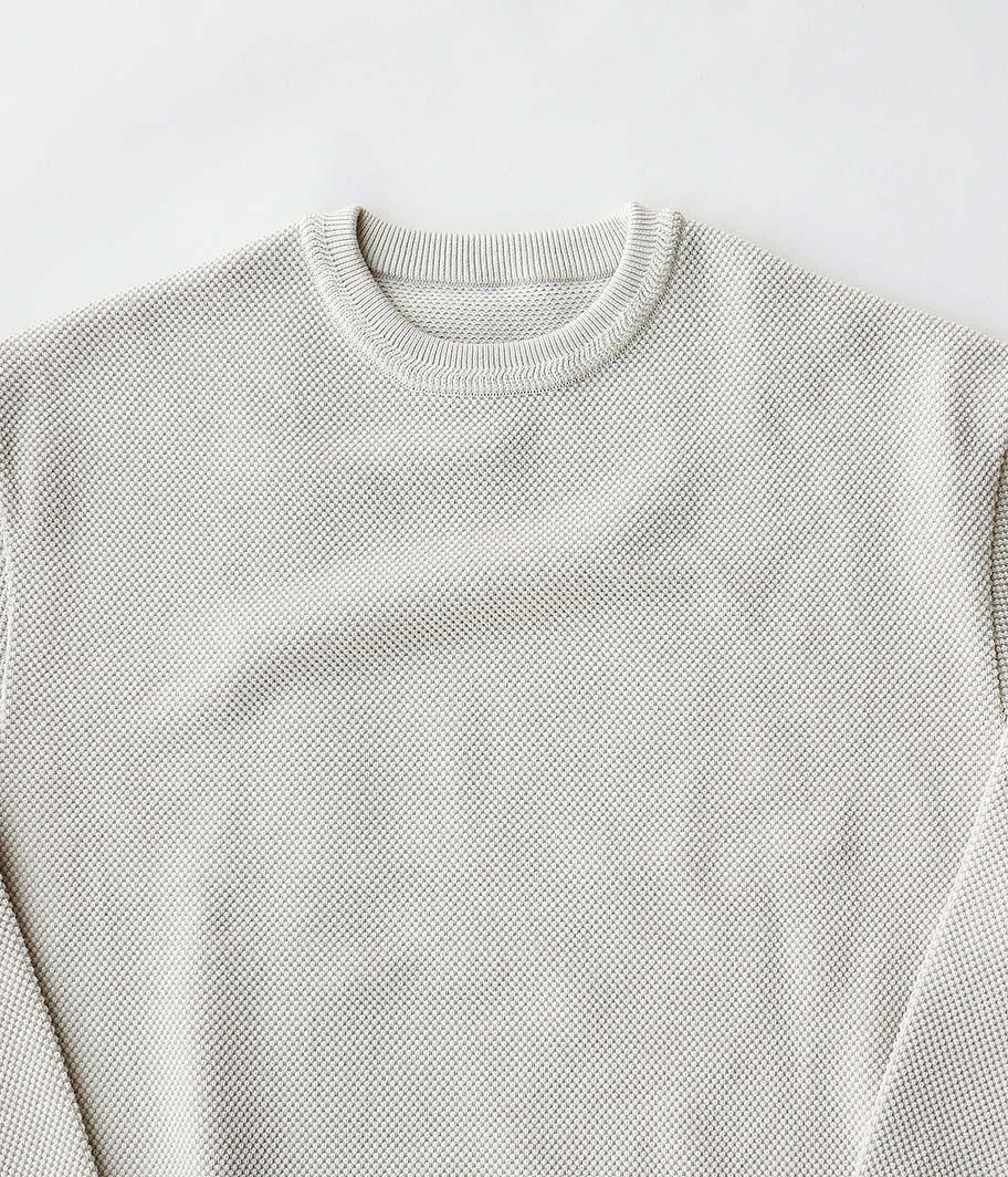 crepuscule Moss Stitch L/S Sweat