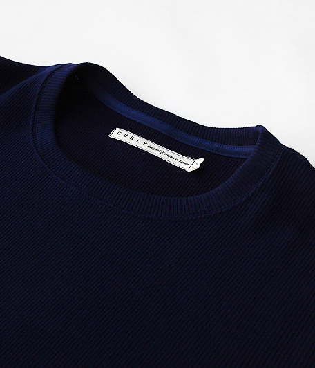 CURLY Cloudy HS Crew Tee