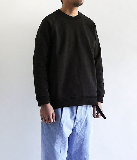 CURLY FROSTED CREW SWEAT