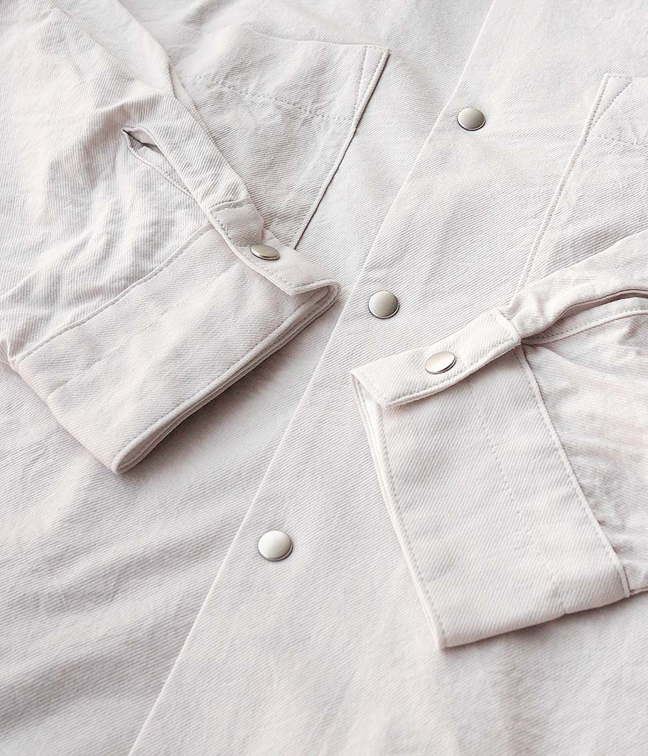 CURLY CLOUDY LS SHIRTS KERSEY