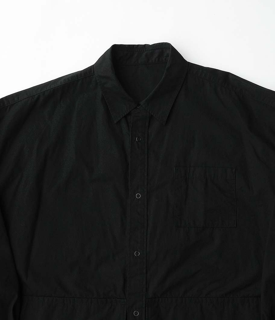 Fresh Service Cargo Pocket Regular Collar Utility Shirt