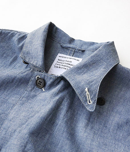 H.UNIT STORE LABEL Chambray Hands-Free Jacket