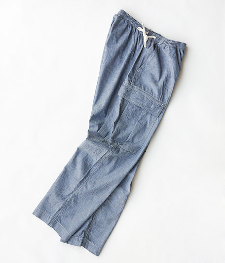 H.UNIT STORE LABEL Chambray Easy Pants