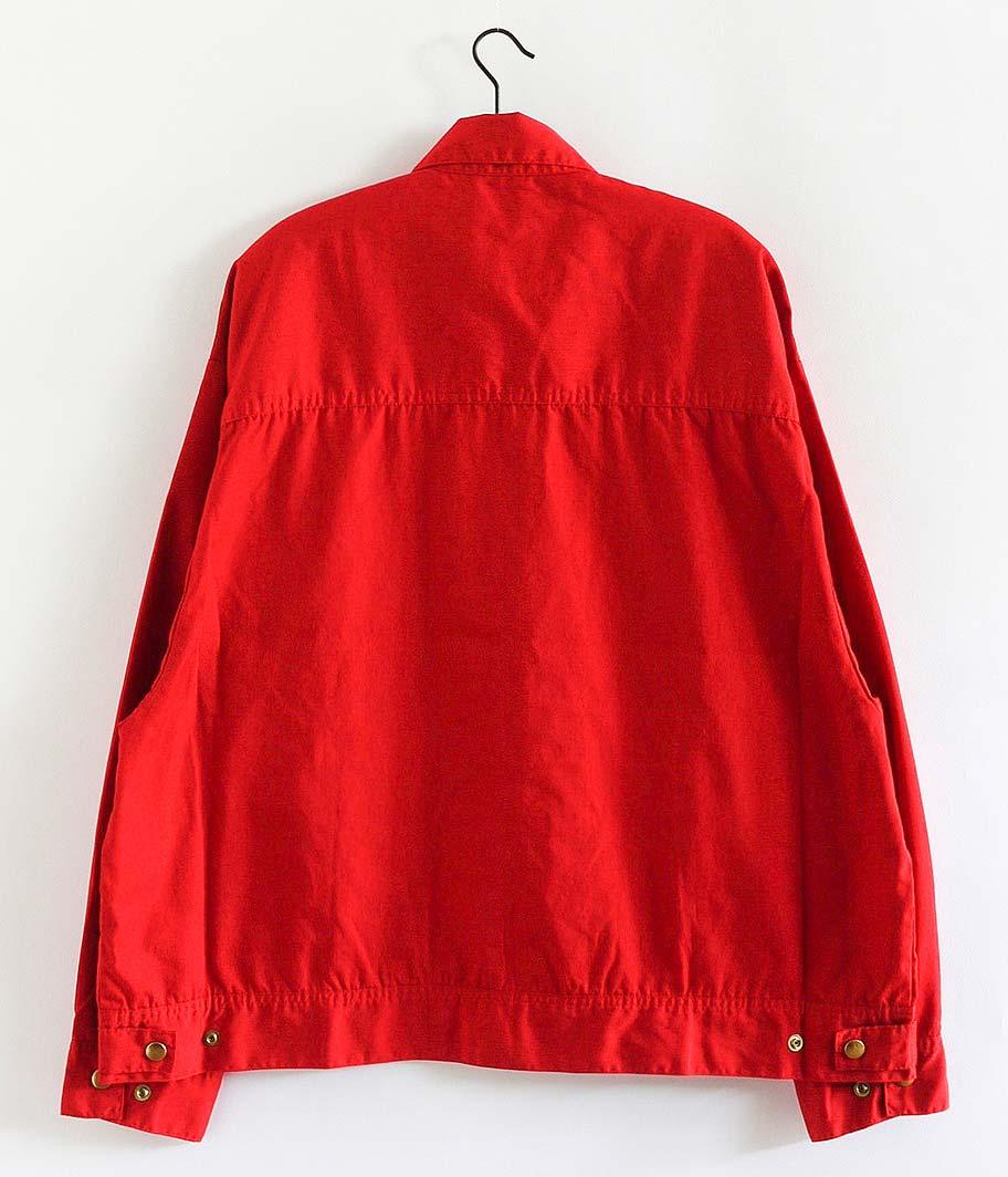 H.UNIT STORE LABEL T/C Poplin Zip Work Jacket