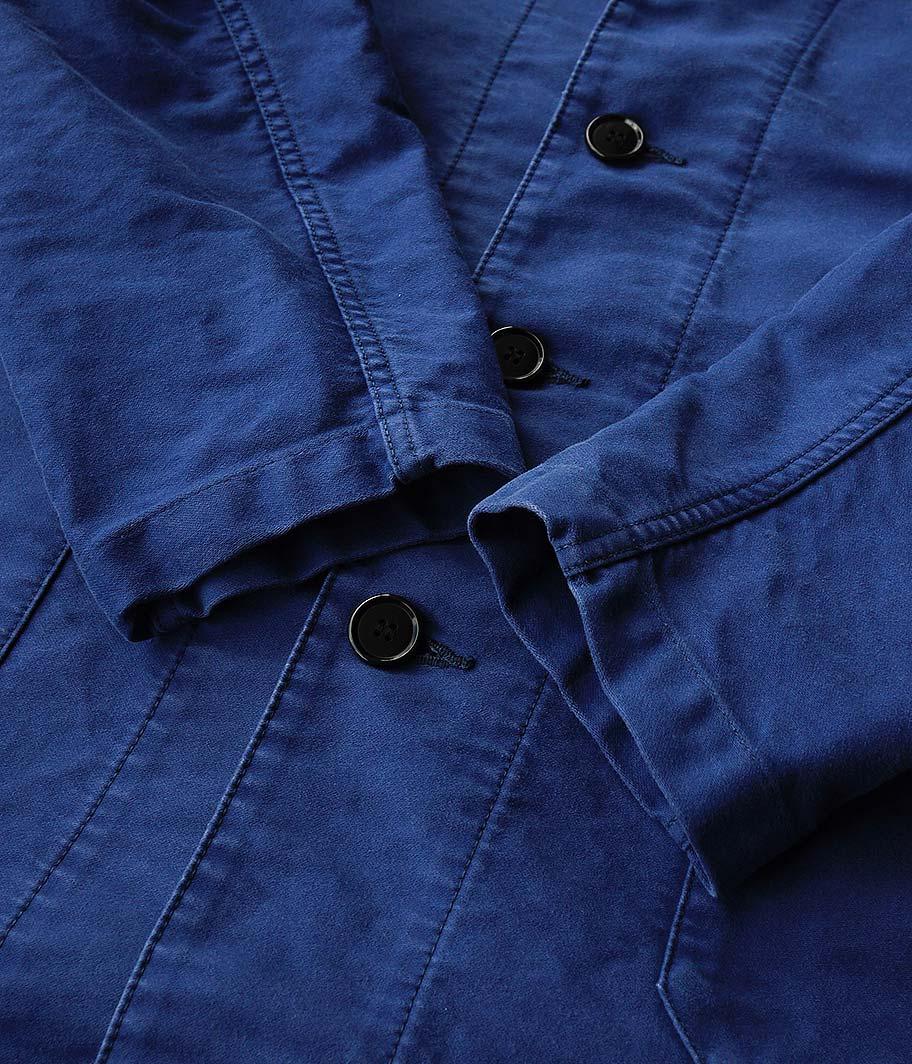 H.UNIT STORE LABEL Moleskin long atelier coat