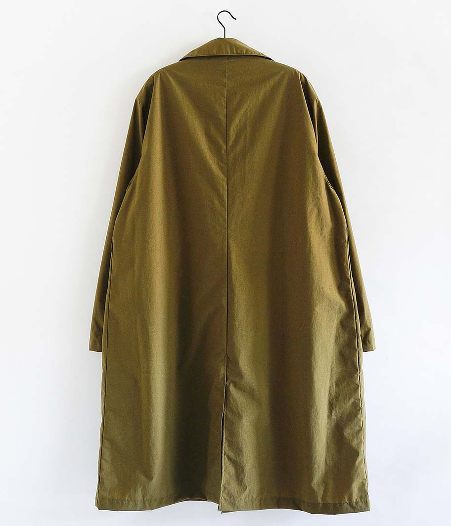 H.UNIT STORE LABEL Nylon French Coat