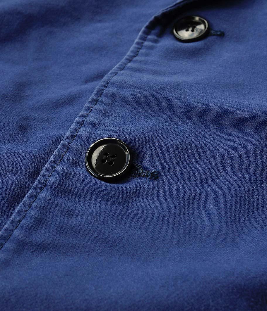 H.UNIT STORE LABEL Moleskin dolman euro work jacket
