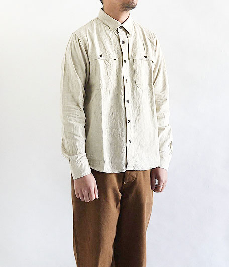 H.UNIT STORE LABEL Ventilation Long Sleeve Shirt