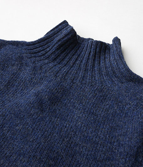 HARLEY OF SCOTLAND HIGH NECK SWEATER