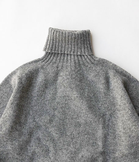 HARLEY OF SCOTLAND TURTLE NECK SWEATER