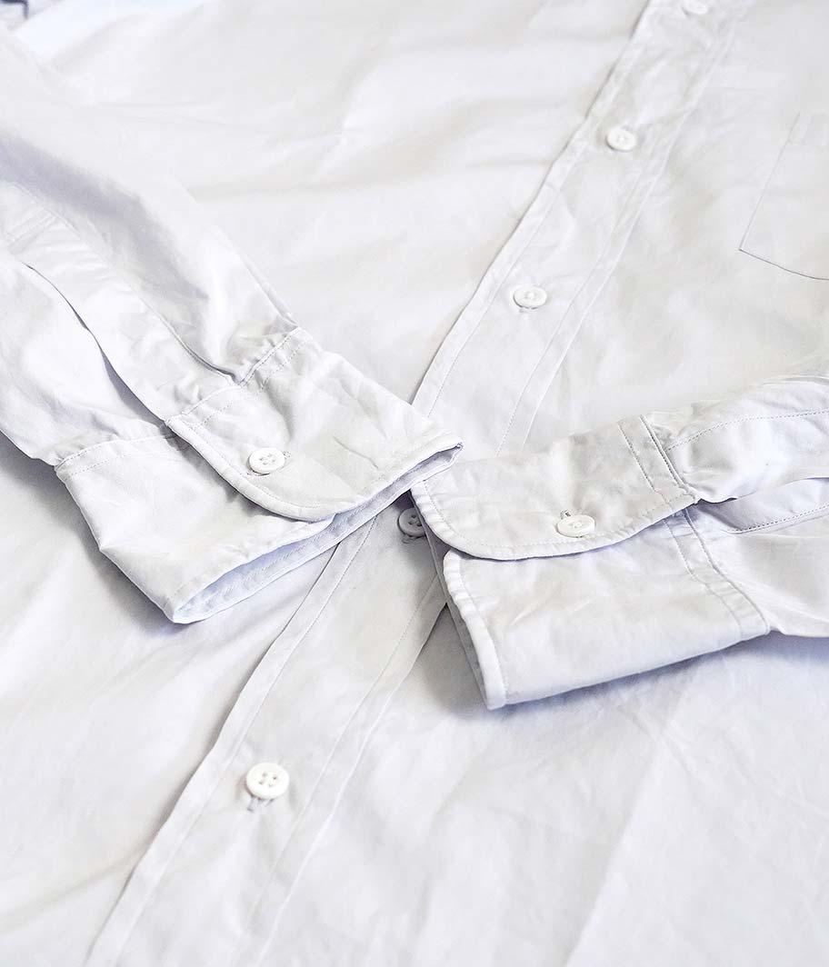 HERILL Suvin Stand Collar Shirt