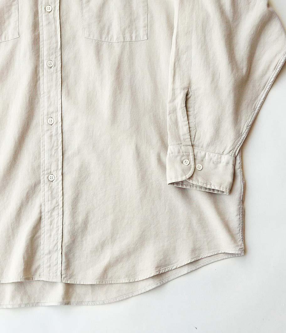 HERILL Cotton Cashmere Brush Work Shirts
