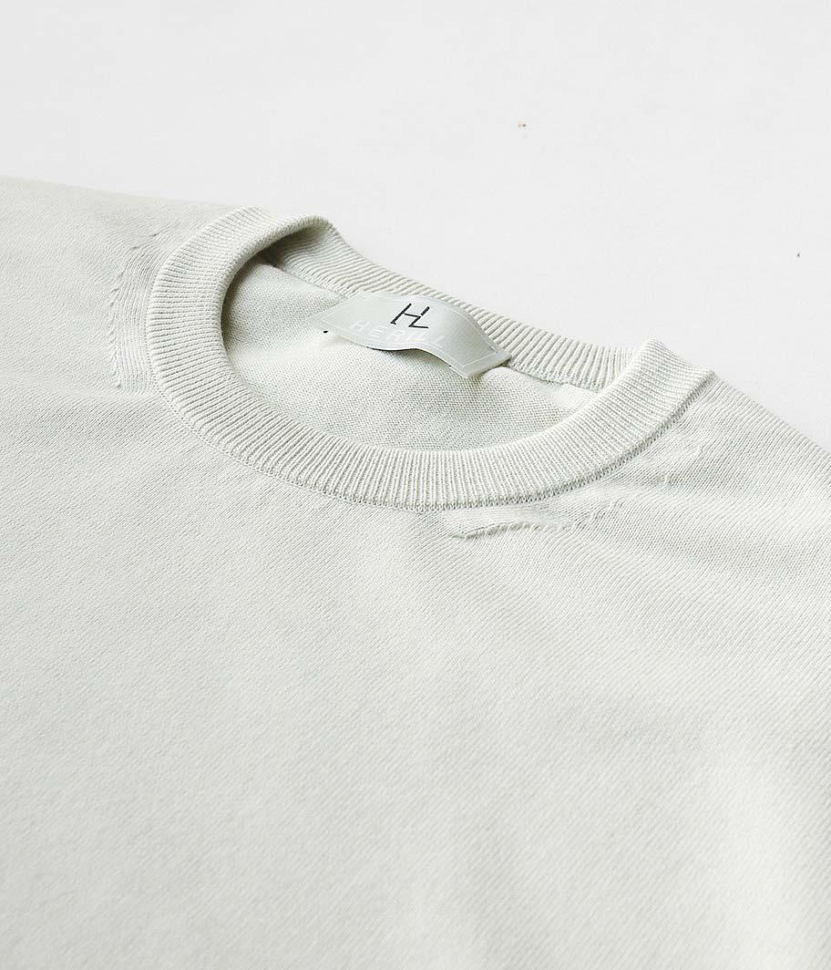 HERILL Cotton S/S Crewneck