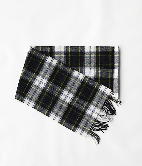 HIGHTLAND TWEED TARTAN SCARF