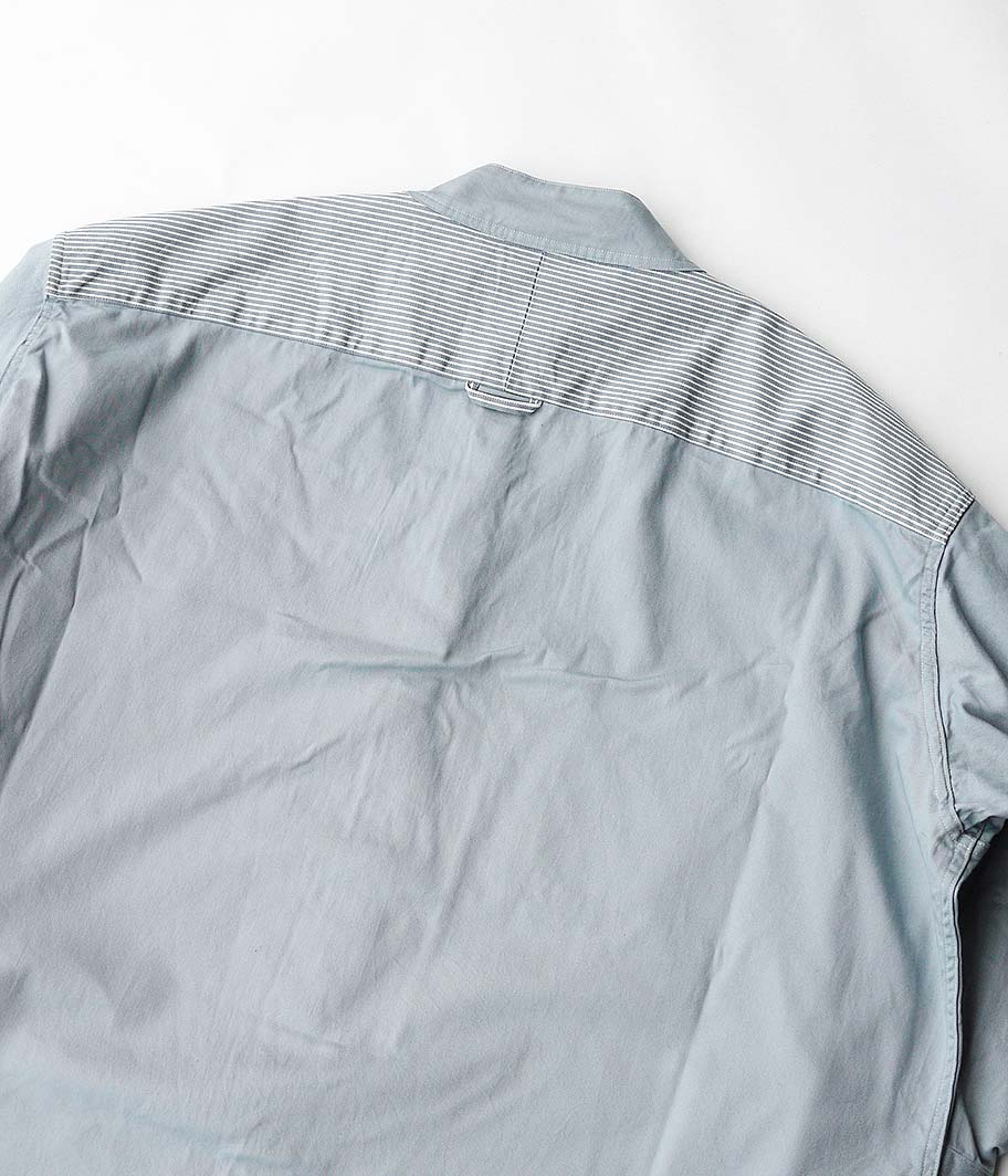 HOMELESS TAILOR STAND COLLAR SHIRT