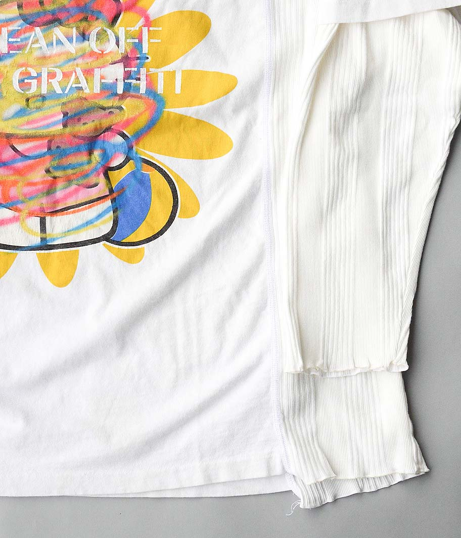 HURRAY HURRAY CLEAN OF THE GRAFFITI TEE