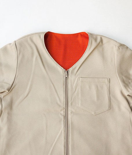 HURRAY HURRAY Reversible Short Sleeve Zip up Jacket