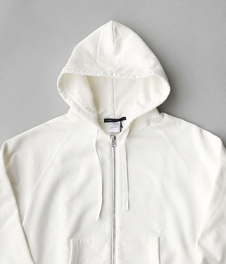 JIGSAW HEAVY WEIGHT FLEECE ZIP HOODY