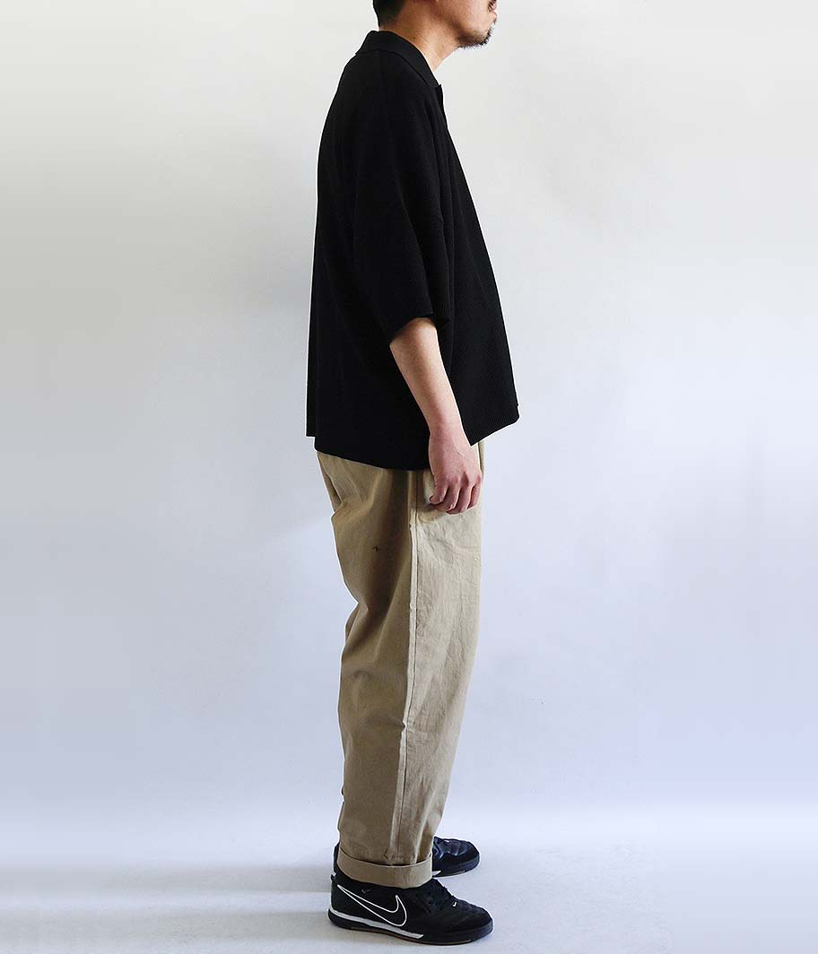 KAIKO LARGER KNIT POLO SHIRT