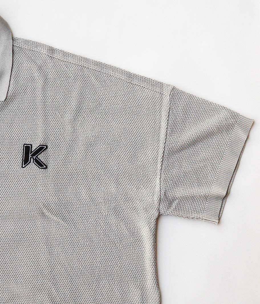 KAIKO LARGER KNIT POLO SHIRT
