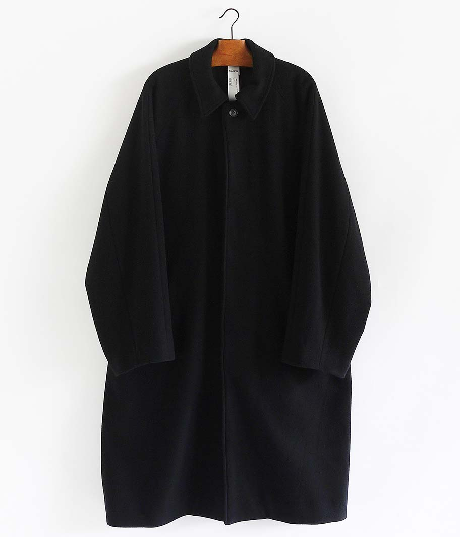 KAIKO LARGER SOUTIEN COLLAR COAT