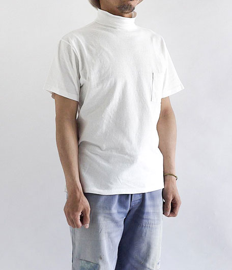 KAPTAIN SUNSHINE Navy Yard Neck Tee