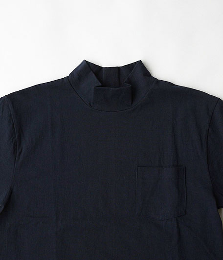 KAPTAIN SUNSHINE 17SS Navy Yard Neck Tee