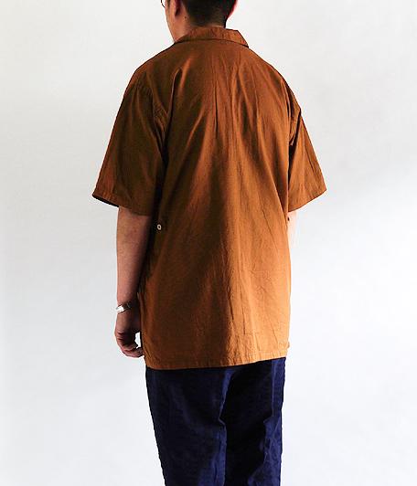 KAPTAIN SUNSHINE Italian Collar Safari Shirt