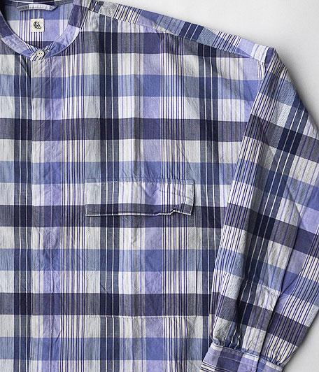 KAPTAIN SUNSHINE Fly Front Band Collar Shirts
