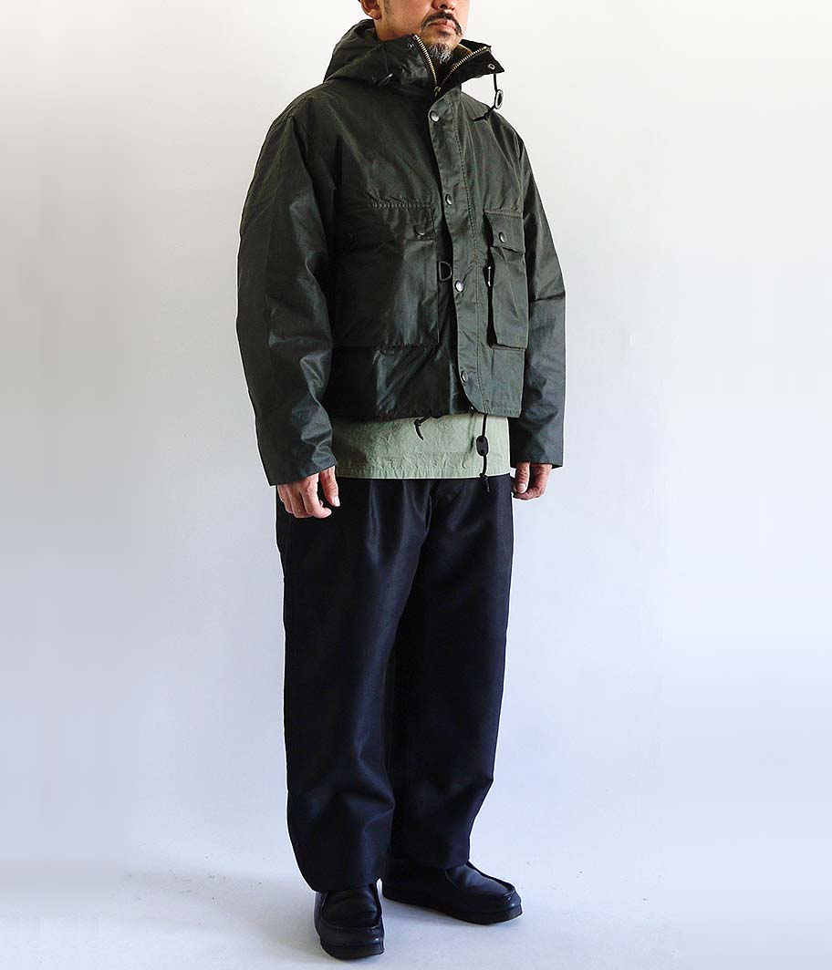KAPTAIN SUNSHINE Field Short Hoody Jacket