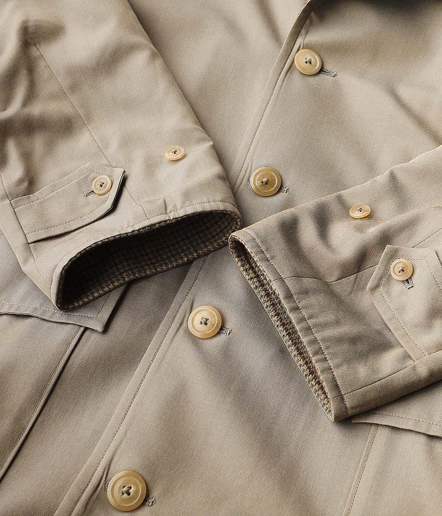 KAPTAIN SUNSHINE Reversible Chesterfield Coat
