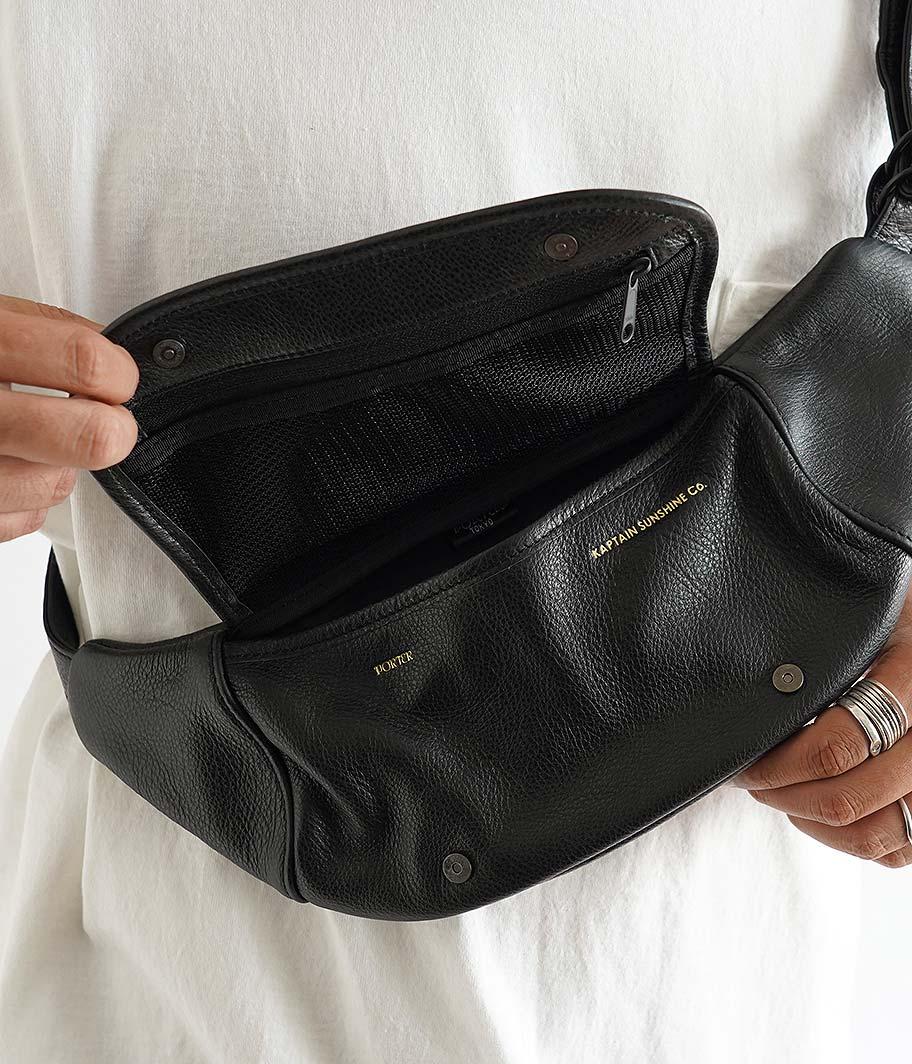 KAPTAIN SUNSHINE Leather Funny Bag