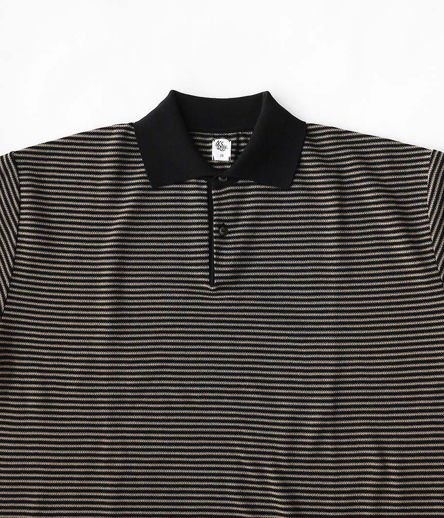 KAPTAIN SUNSHINE Polo Collar Knit Shirt