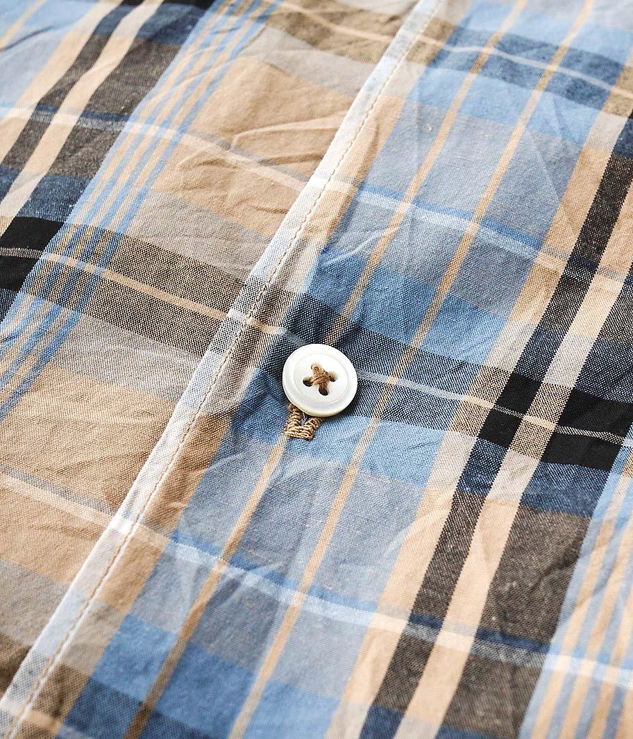 KAPTAIN SUNSHINE Open Collar S/S Shirt