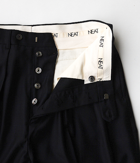 NEAT Wool Glen Plaid / WIDE